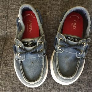 Sperry Toddler size 7 Boy